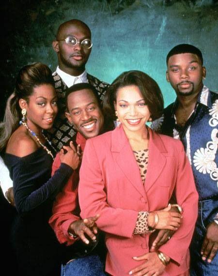 """Cast of """"Martin"""" TV Show (1992-1997)"""