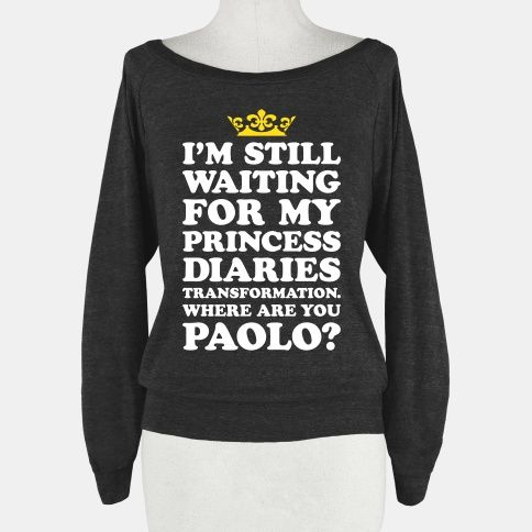 Where Are You Paolo? #princessdiaries #funny #shirt
