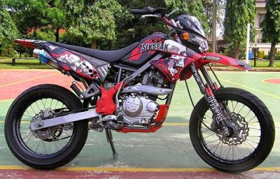 Modifikasi Motor KLX 150Trail