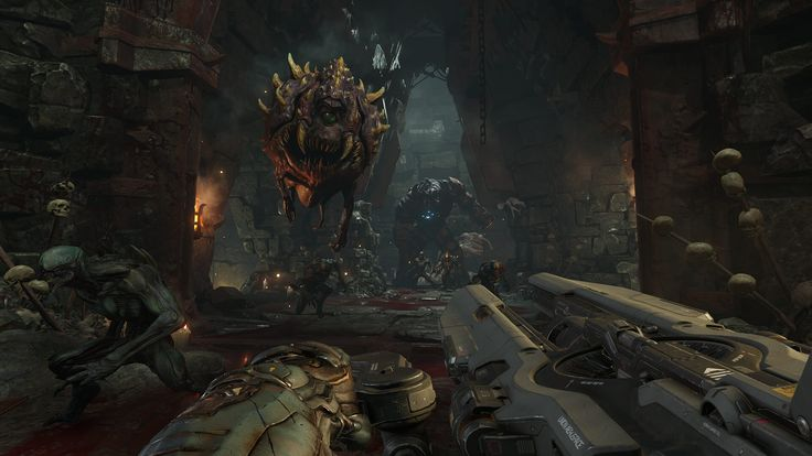 Doom is the grandaddy of shooters! Build a PC to play it now! http://www.buildingagamingpcsite.com/doom-system-requirements/