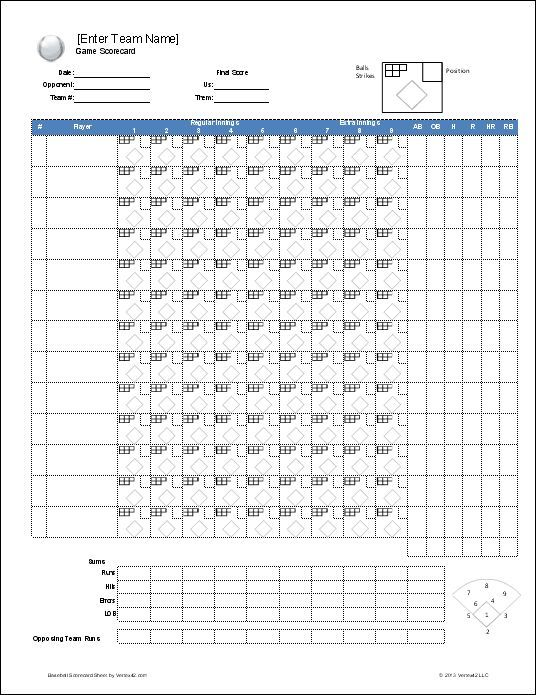 Download a free Baseball Roster Template for Excel, featuring a