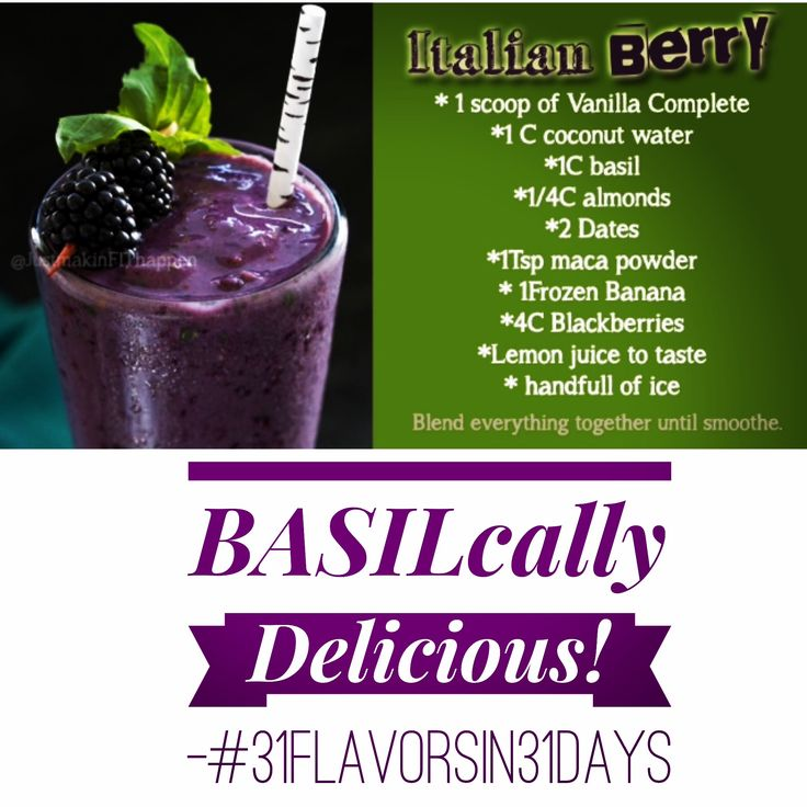 Paleo approved plant based protein smoothie #31flavorsin31days