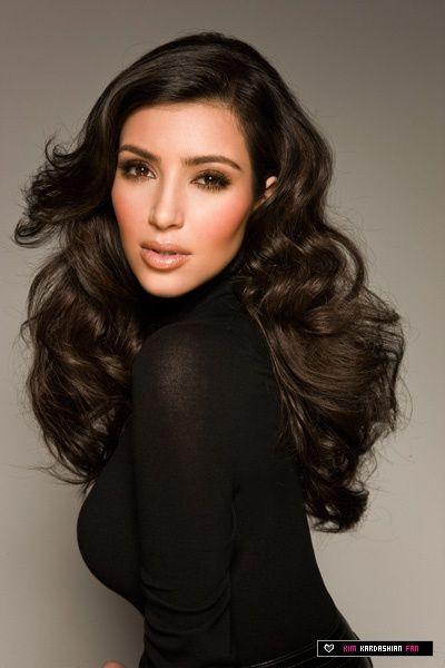 kim kardashian's glamour waves