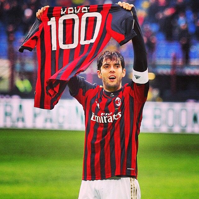 Kaka 100 goals for Milan