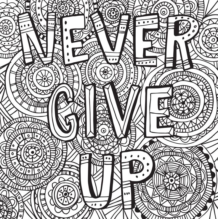 132 best images about colouring pages quotes on pinterest for Inspirational adult coloring pages