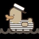 Vintage Sailor Duck Collection on Society6.