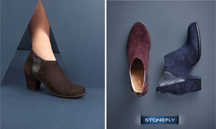Intramontabili #ankleboot! In questa stagione #Stonefly avrete solo l'imbarazzo della scelta tra tutti i colori proposti! >> http://www.stonefly.it/it/2/collezione/donna/641/macy-6.html