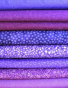 Bright Purple Fabric Bundle