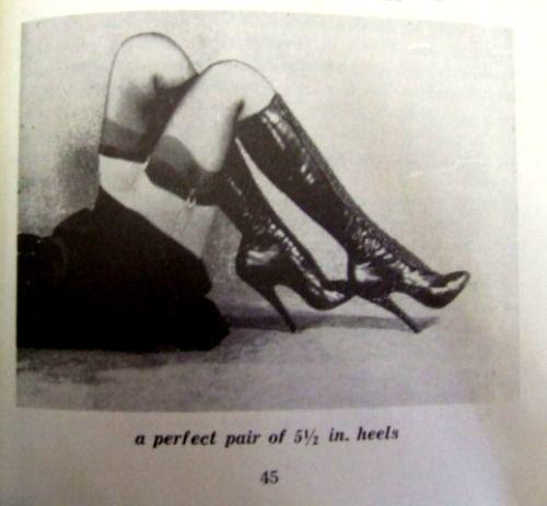 Bizarre fetish boots