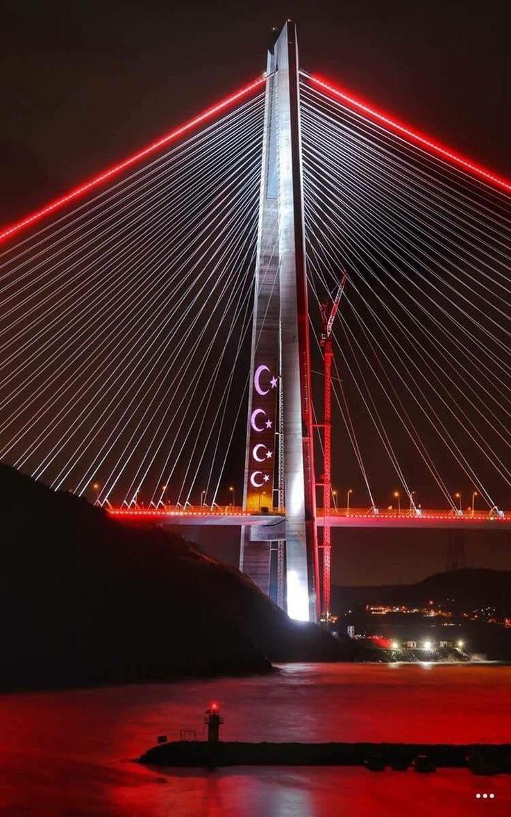 Yavuz Sultan Selim bridge, Istanbul.