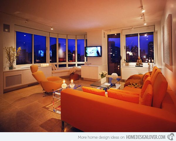 Best 25+ Orange Living Rooms Ideas Only On Pinterest   Orange