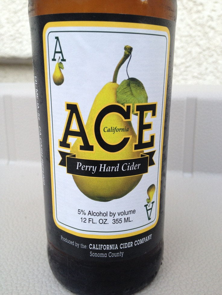 ACE Perry Hard Cider (pear) | Cider | Pinterest | Cas ...