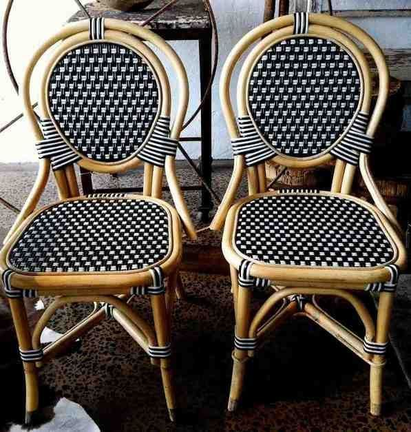 French Bistro Dining Chairs, French Cafe Outdoor Furniture