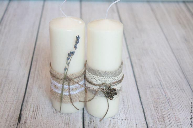 Купить Свеча - бежевый, белый, свеча в подарок, свеча, Свечи, свечи на свадьбу…