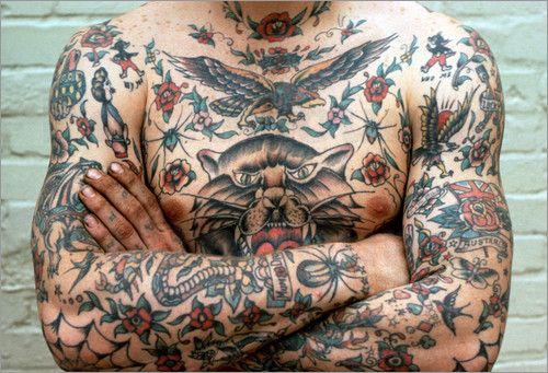 Traditionelle Australien Tattoos Bilder: Poster von Oliver Strewe bei Posterlounge.de