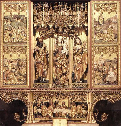 Oltář Sv. Jakuba - Mistr Pavel z Levoče | ARTMUSEUM.CZ