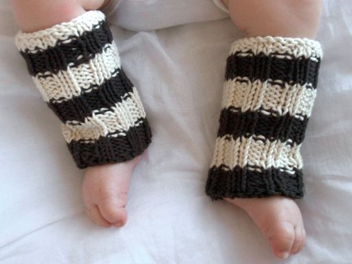 Organic Cotton Baby and Toddler Legwarmers