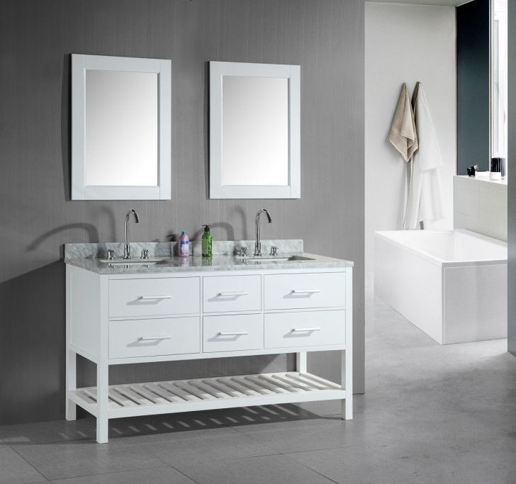 1000 Ideas About Small Double Vanity On Pinterest Double Vanity Double Sink Bathroom And