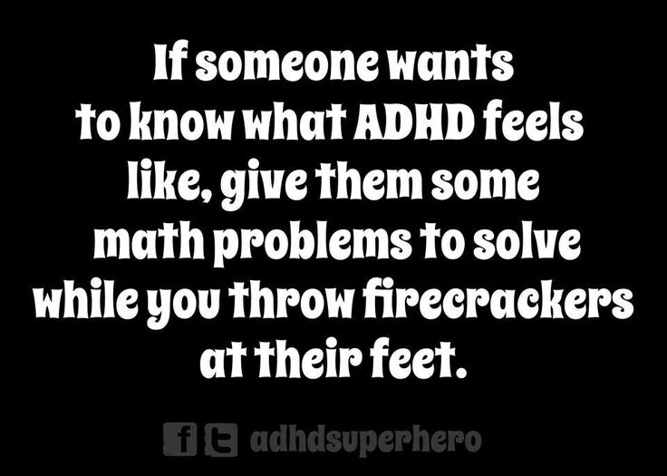 Dating someone adhd disorder