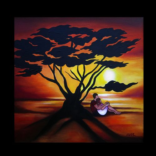 Sunset Silhouette -- Stephanie Clair www.stephanieclair.com