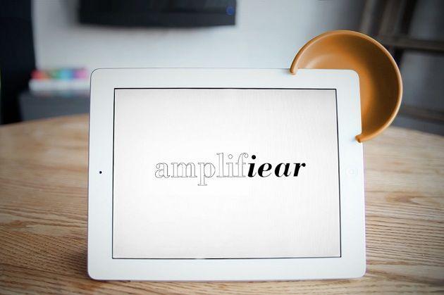 Apple iPad 'Amplifiear' Sound Speaker: Idea, Gadgets Gadgets, Speakers, Sound Amplifier, Products, Design