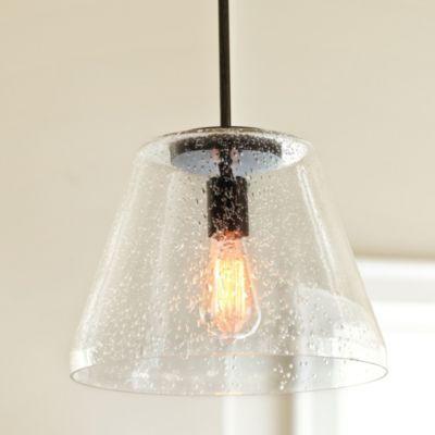 Kendall Seeded Glass Pendant | Ballard Designs