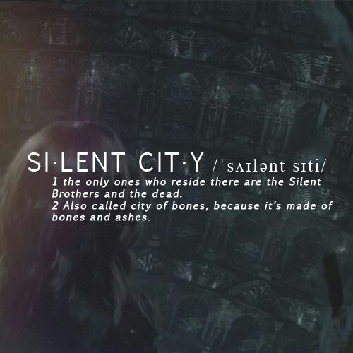 The Mortal Instruments: City of Bones | Book Series by Cassandra Clare | Silent City