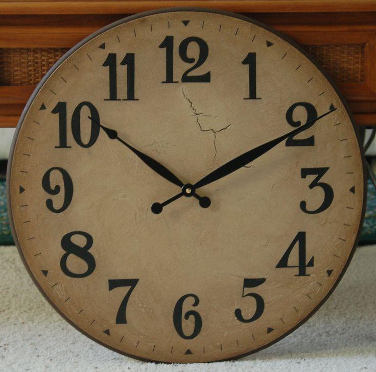 25+ Best Oversized Wall Clocks Ideas On Pinterest   Rustic Wall Clocks, Wall  Clocks And Giant Wall Clock Part 67