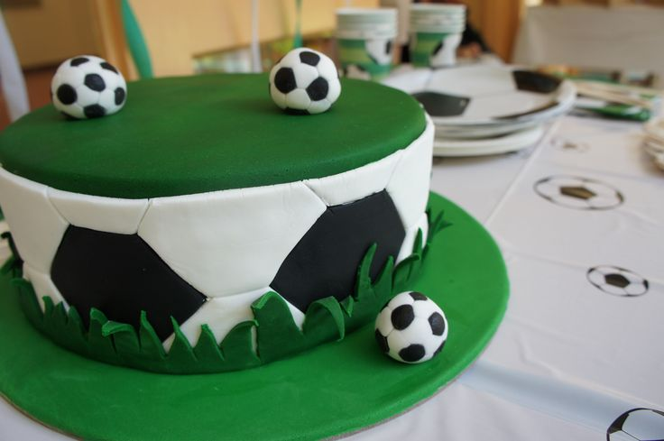 Soccer kids party - Cake