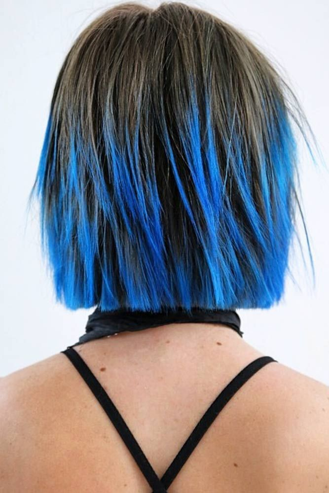 60 Adorable Short Hair Styles Lovehairstyles Com Short Ombre Hair Ombre Hair Blonde Blue Tips Hair