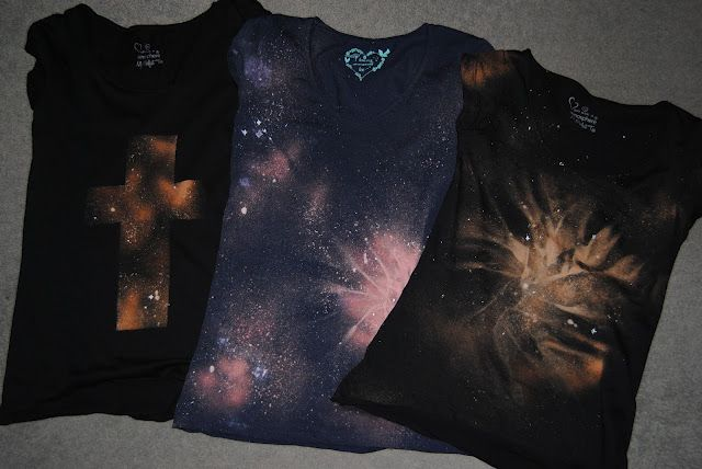 This Fashion Is Mine...: DIY Galaxy Print Tee