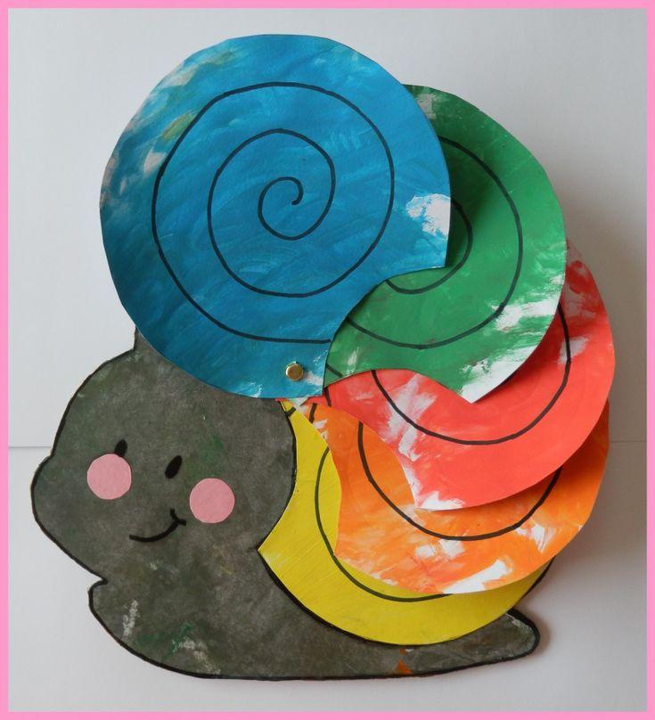 Apprendre les couleurs avec un escargot