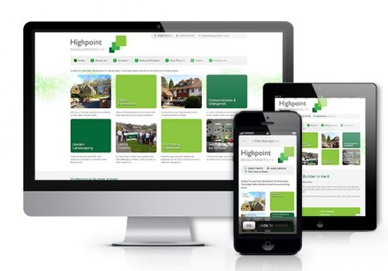 A look at the web design and marketing services provided to Highpoint Developments by the Smart Domain Group