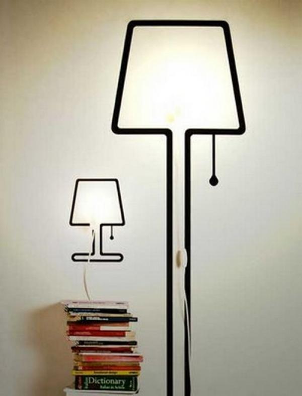 Cool Bedside Lamp 17 best images about lámpara on pinterest | vinyl decor, stick it
