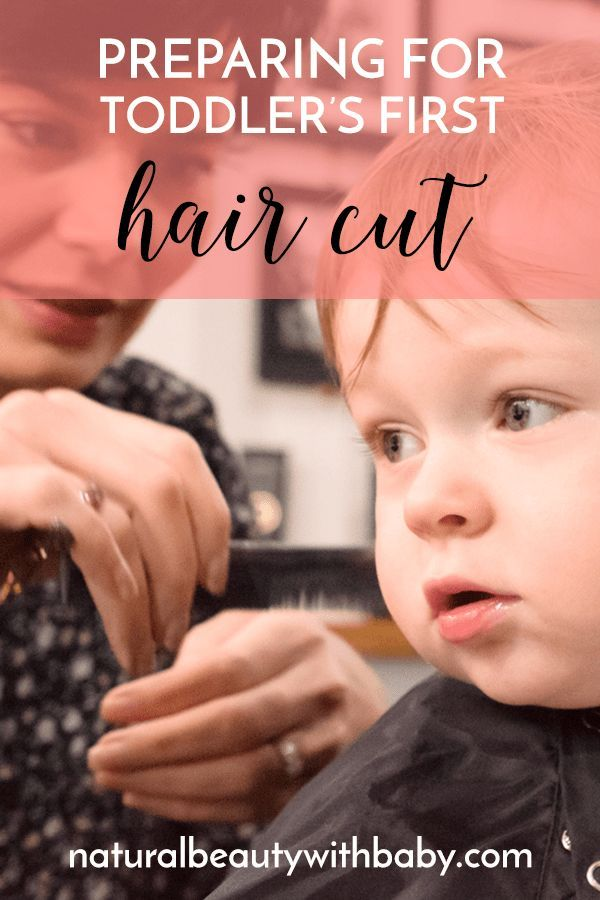 How to prepare for your toddler's first haircut