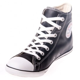 Need a pair of shoes you can always rely on? With the Converse Chuck Taylor leathers you know you're getting pure durability! An exceptionally comfortable rubber sole with decent support, along with nothing but the best leather for a soft, flexible upper! These Converse Slims are perfect for all those with narrow feet! With black being such a versatile colour, you'll never have to worry about whether or not these kicks match your wicked outfit!