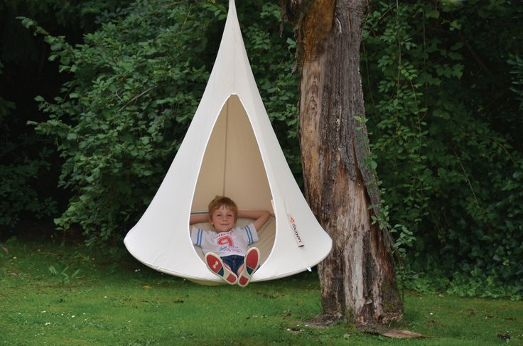 Bonsai Cacoon Kids Hanging Chair   Camping   Outside   Kids Hammock   Garden Furniture   Available at cuckooland.com