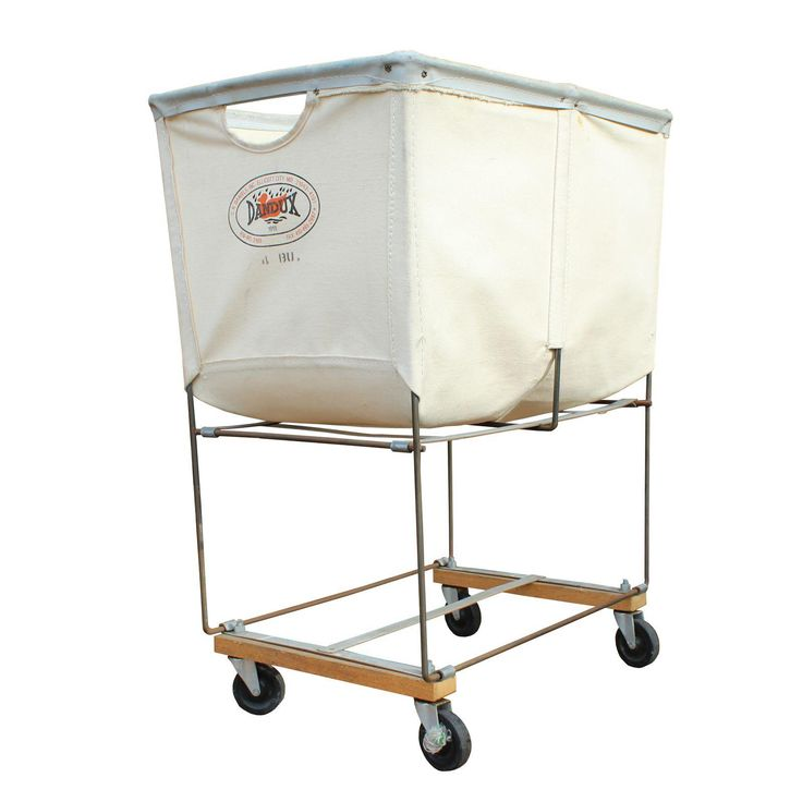 Image of Vintage Dandux Industrial Laundry Cart