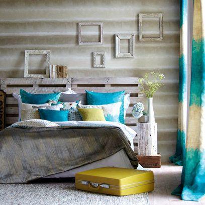 Shabby Chic Bedroom Wooden Headboards