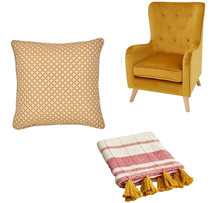 i have this thing for ochre - just some of my must-haves soft furnishings of the moment! see the full post and interior inspo here... #ochrefurnishings #interiorinspo #interiorsblogger