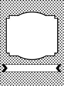 Free printable polka dot image backgrounds
