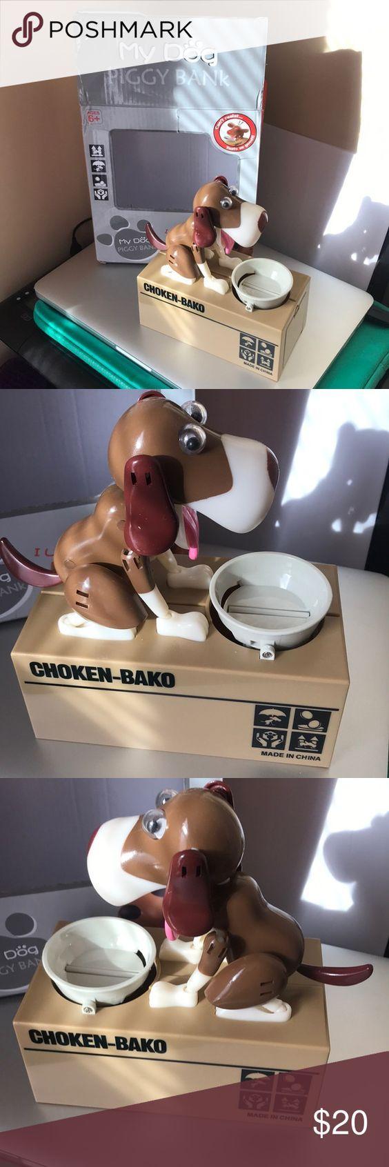 Choken Bako Dog Coin Bank