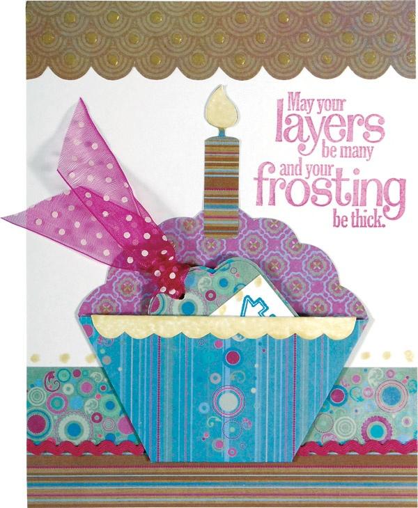 Cupcake Birthday card: Scrapbook Ideas, Cute Cards, Crafts Ideas, Crafts Cards Ideas, Birthday Cards, Cupcakes Birthday, Birthday Cupcakes, Cards Crafts, Cupcakes Cards Ideas