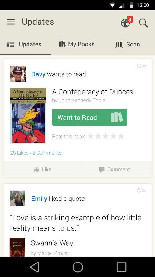 Goodreads - screenshot