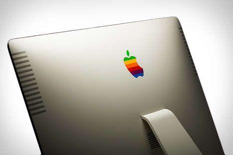 Powerful Retro-Inspired Computers - The Colorware Retro iMac Mimics the Aesthetic of the Apple IIe