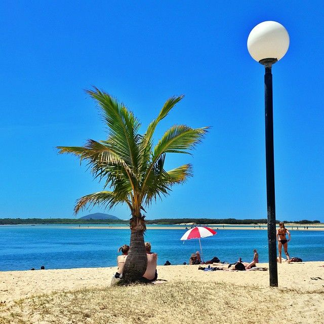 Cotton Tree , Sunshine Coast Queensland Australia. Great memories of growing up nearby. A little paradise. #sunshinecoast