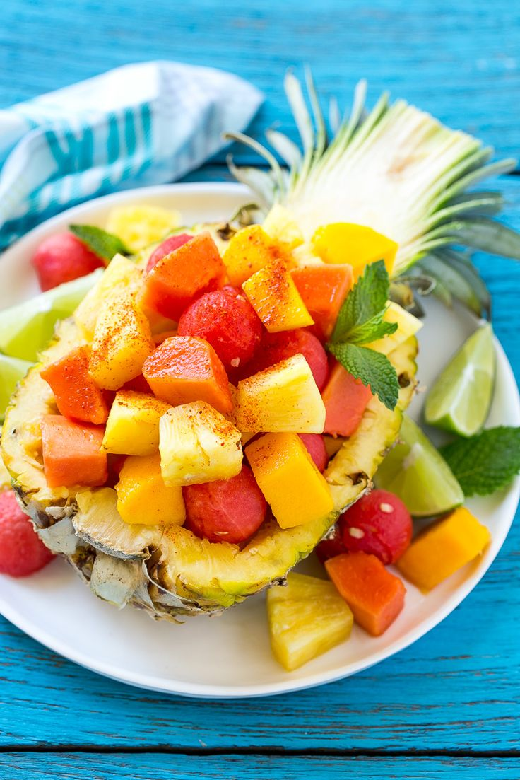 mexican fruit salad is real fruit juice healthy