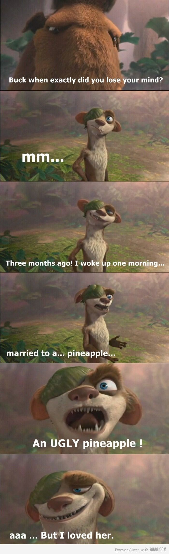 Ice Age 3 when did YOU lose your mind? o.0 http://ibeebz.com
