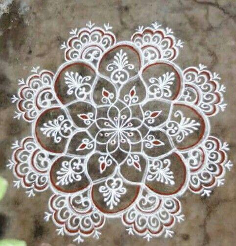 Mehndi Designs Rangoli : Mehndi design kolam makedes