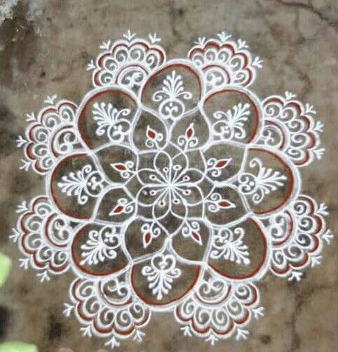 17 images about daily use rangoli on pinterest design for Floor rangoli design